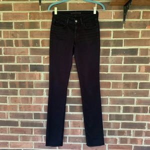 J Brand shadow black jeans
